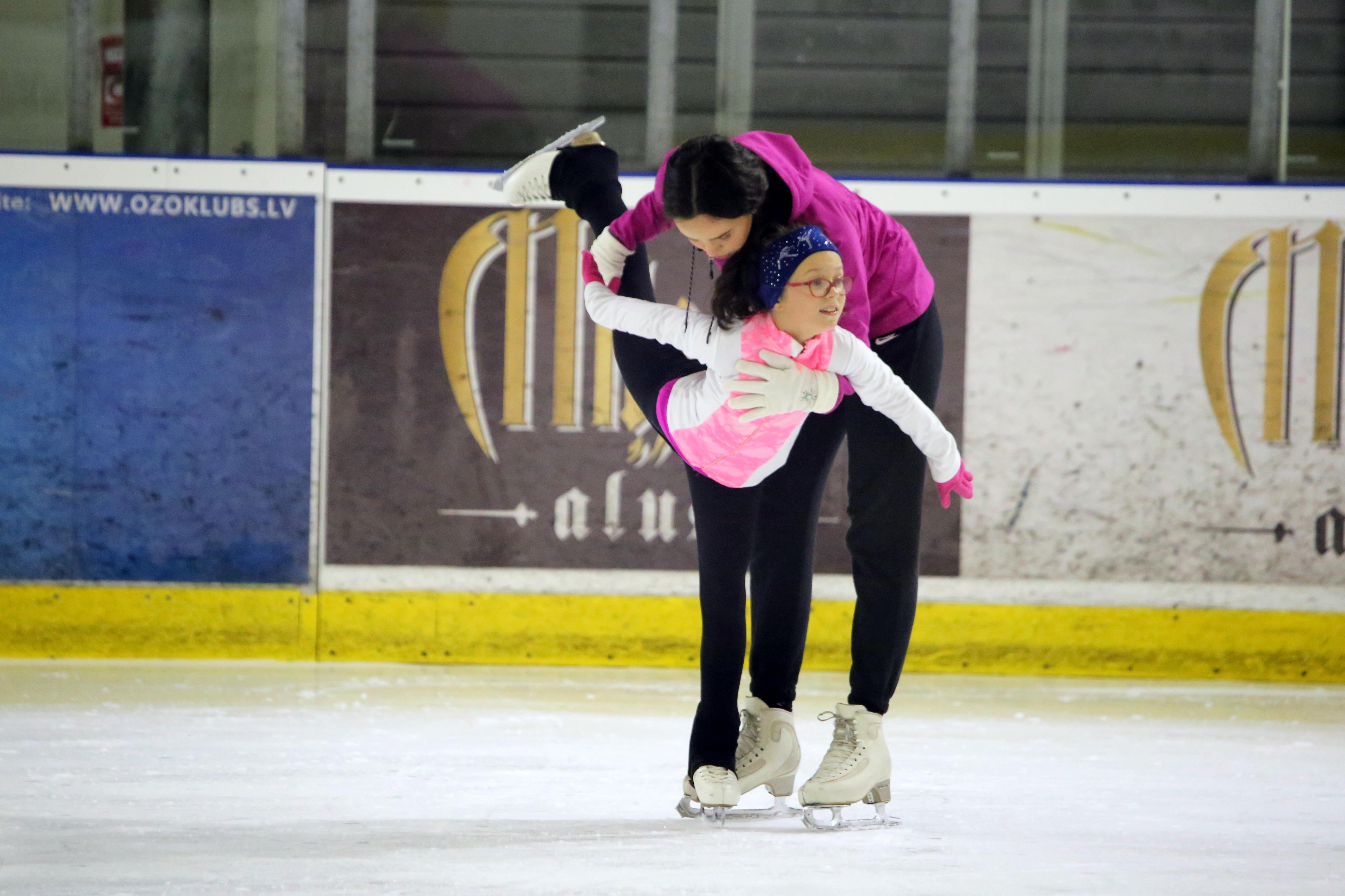Figure skating classes for children